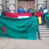 DURBAN MUNICIPAL WORKERS MARCH TO CITY HALL
