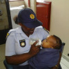 POLICE SAVE 17-MONTH-OLD BABY