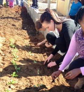 Gramkow has been invovled in various communityprojects as part of her journey as a finalist for Miss Earth SA 2013