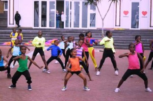 The Kwamashu School of Dance. Picture by: Cassandra Zungu