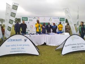 Ulwazi Hammersdale Festival 2013 top administration members at Mpumalanga stadium. Picyure by: Nomvula Ndlovhu