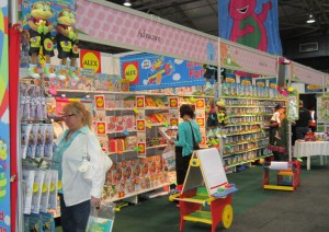Exhibitors never fell short off baby supplies