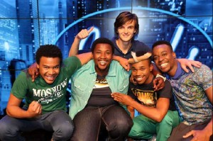 Idols SA Top 5 Boys. Pictures from: https://m.facebook.com