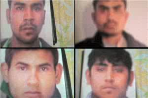 The four were sentenced to death in an Indian court. Photo courtesy: Aljazeera
