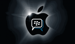 Blackberry instant messaging will finally be available on Android and iPhone. Picture courtesy of tech2.in.com