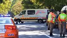 Mandela is transported to his home in Houghton after spending three months in the Pretoria Hospital. Picture taken from BBC gallary picture.