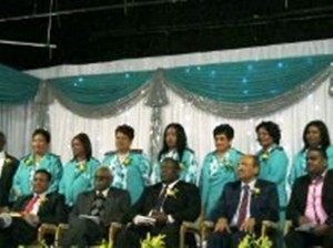 Staff of the ABH nursing school. Pictures by: Marcelle Naidoo