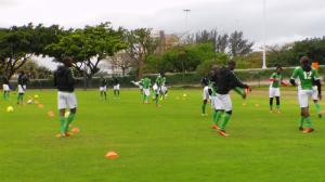 Amazulu players preparing for Saturdays clash against Moroka Swallows Picture by: Nhlanhla Ndlovu