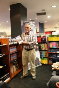 Durbanb-born author Henry Spencer with his latetst book. Pictures by: Chanelle Luthcman