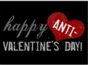 14 February is Anti Valentines Day. Pictures from: Meetupstatic.com