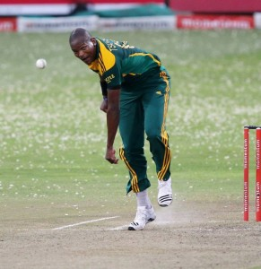 Lonwabo Tsotsobe was questionable as he conceded 21 runs in one over in a T20 match on Wednesday. Pictures from : Cricket South Africa