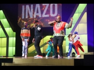 Big-Nuz performing at the 13th Metro FM Music Awards at the ICC in Durban. Picture by Sphamandla Blose