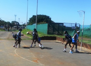 DUT team lost in all four quarters of the game, Ongoye was too strong for them. Pictures by Khwaza Mbasa.
