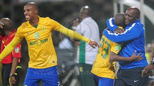 Big spending Mamelodi Sundowns are through to Nedbank Cup quarterfinals after crashing out Golden Arrows on Saturday. Pictures by Sundownsfc.co.za