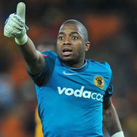 Kaizer Chiefs goalkeeper and captain Itumeleng Khune missed the match following his injury, a minutes before the kick off at Mabhida stadium on Saturday.Pictures from: Sabc.co.za