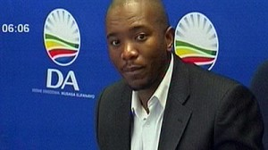 DA's Mmusi Maimane is confident their list is a best foot forward.  Pictures from: