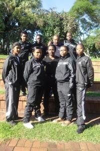 Nikita Parthab, Siyethemba Ntombela, Sifu Musa Mahlaba, Lindokuhle Mathe and Dudu Jula. Pictures by: Given Jama