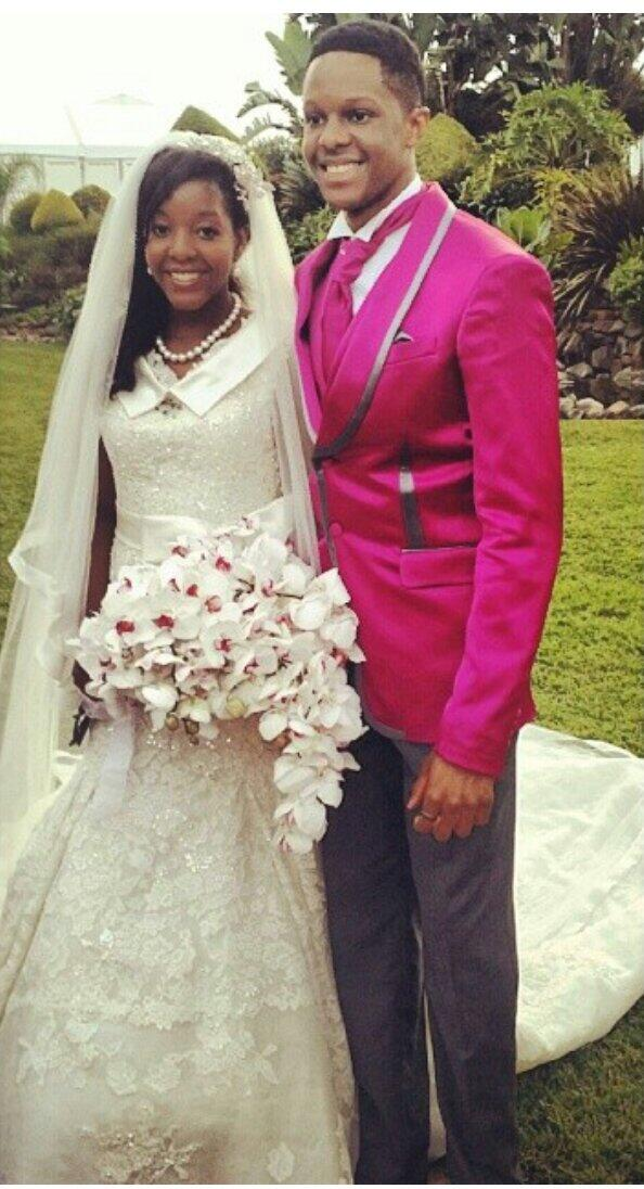 Bona Mugabe Poses For A Photo With Her Brother Robert Junior Pictures From