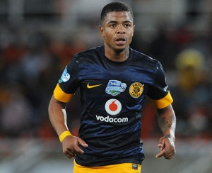 In-form Kaizer Chiefs player George Lebese is enjoying himself these days as he scored the opener against Polokwane City on Wednesday. Pictures from: Soccer Laduma
