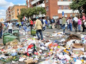 Basic service delivery workers had vowed to make Durban ungovernable. Picture from: www.thenewage.co.za