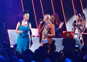 Mafikizolo wins song of the year. Picture by: www.MTVBASE.co,za