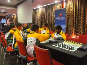 KwaZulu-Natal representatives in the World Youth Chess Championship set to stage in September. Picture by: Nhlanhla Ndlovu