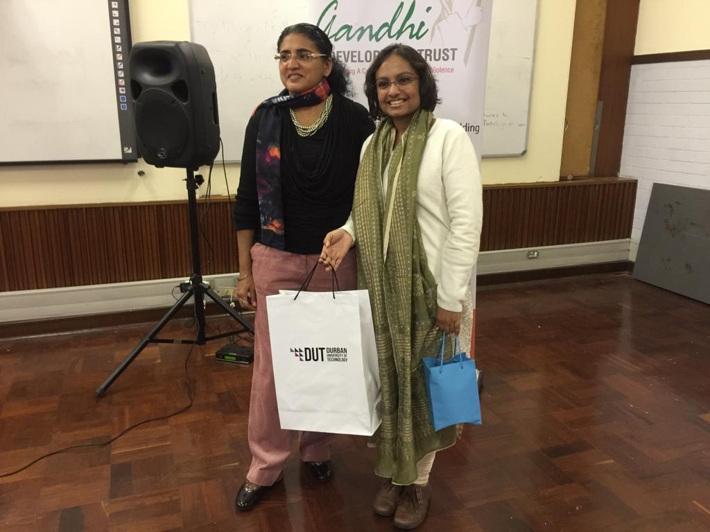 Ayesha Mall , Programme Co-ordinatorfor the Journalism programme and Keynot speaker, Kajari Biswas