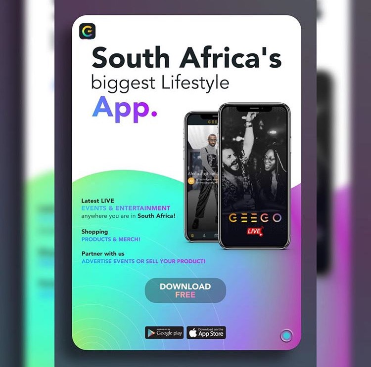 South Africa's entertainment and lifestyle app, GeeGo Live